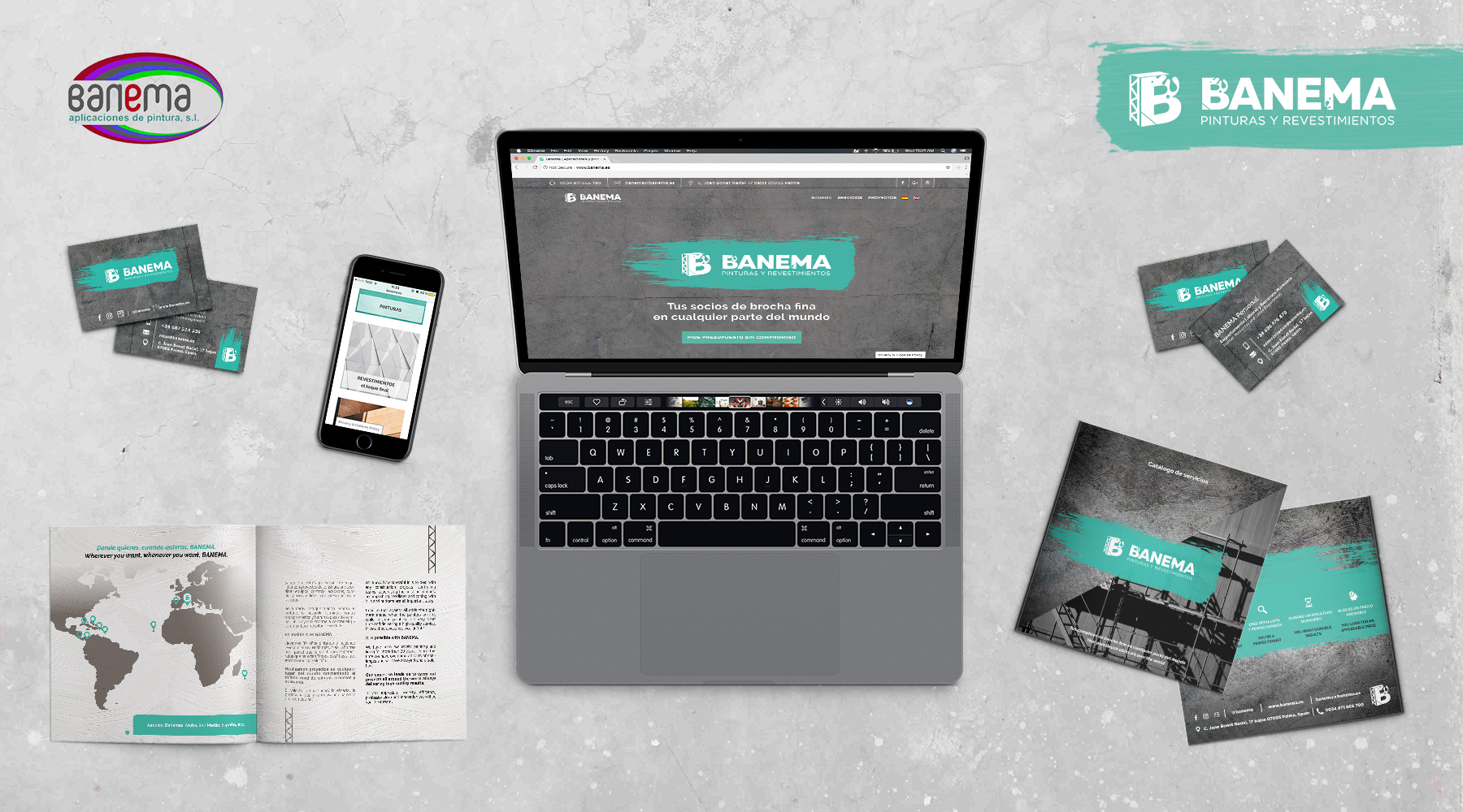 Banema Sitio Web